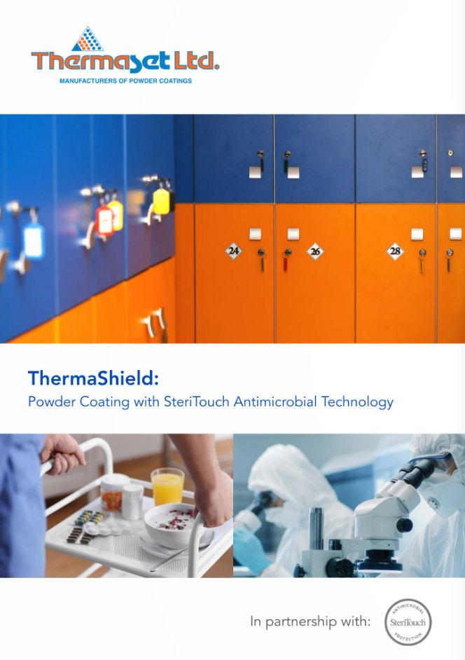 Thermashield - Antimicrobial powder coatings